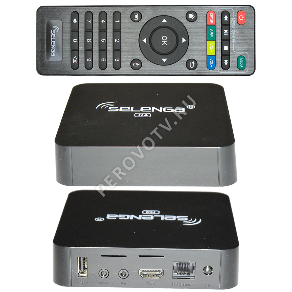 Медиаплеер Selenga R4 2Gb/16Gb Android TV Box