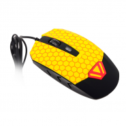 Мышь CBR CM 833 Beeman Black-Yellow USB, вид 3