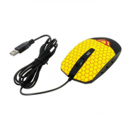 Мышь CBR CM 833 Beeman Black-Yellow USB, вид 2