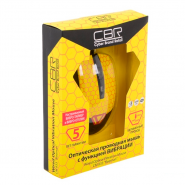 Мышь CBR CM 833 Beeman Black-Yellow USB, вид 4